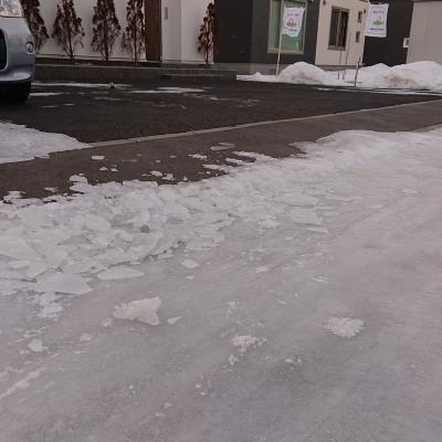 苫小牧の冬