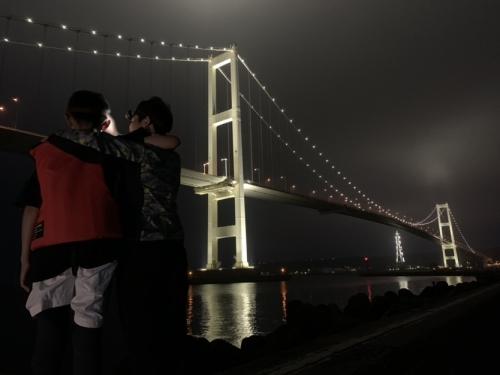 釣り 白鳥大橋
